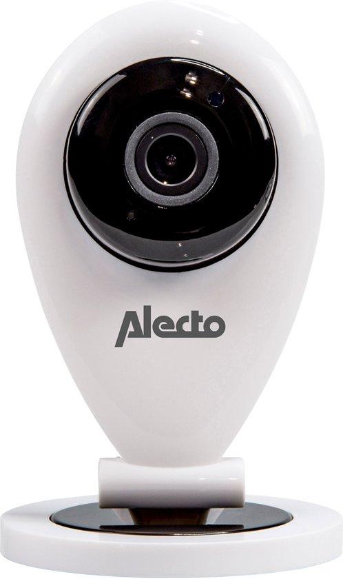 Alecto DVC-105IP WIFI indoor camera | Toezicht met smartphone/tablet | Volledig gratis App| Wit / Zwart