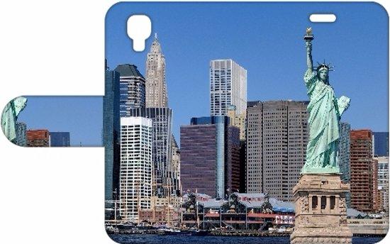 Wiko Goa Uniek Design Hoesje New York in Pietersbierum / Pitersbierrum
