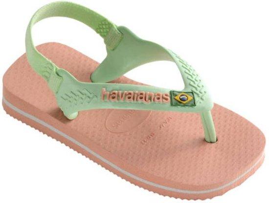 daa1742bab5 bol.com   Havaianas Baby Chic Brasil logo II roze slippers meisjes