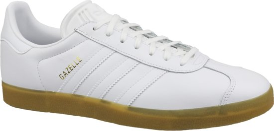adidas gazelle heren wit