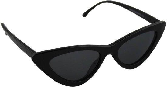 a954fea5497870 Zonnebril UV 400 Cat Eye Zwart