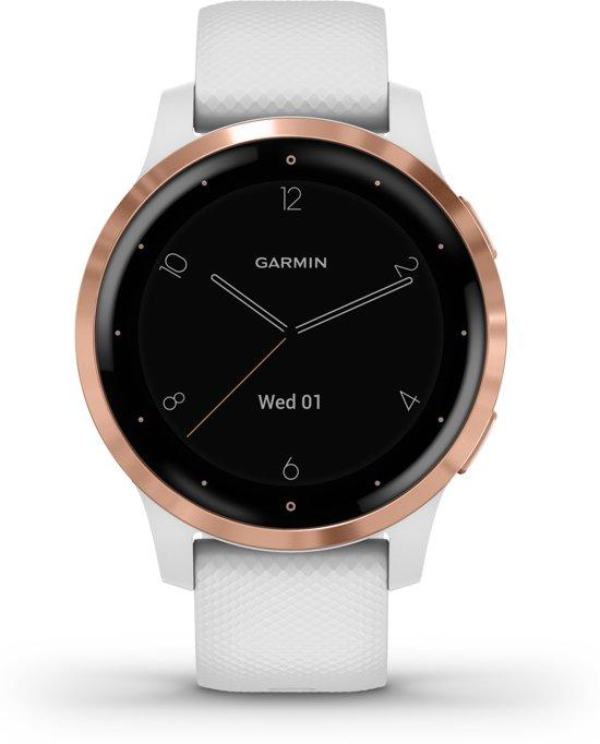 Garmin Vivoactive 4S - Smartwatch - White-Rosegold
