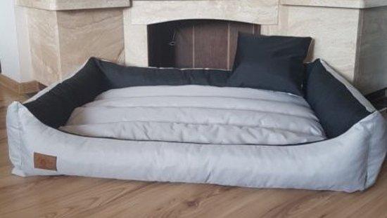 XXL Hondenbed van kunstleer - hondenkussen hondensofa kattenbed hondenkorf - waterdicht