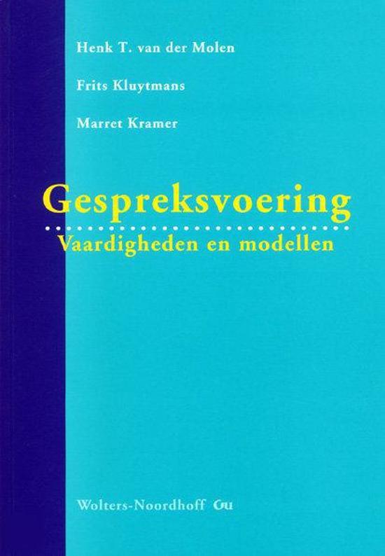 Boek cover Gespreksvoering van H.T. van der Molen (Paperback)