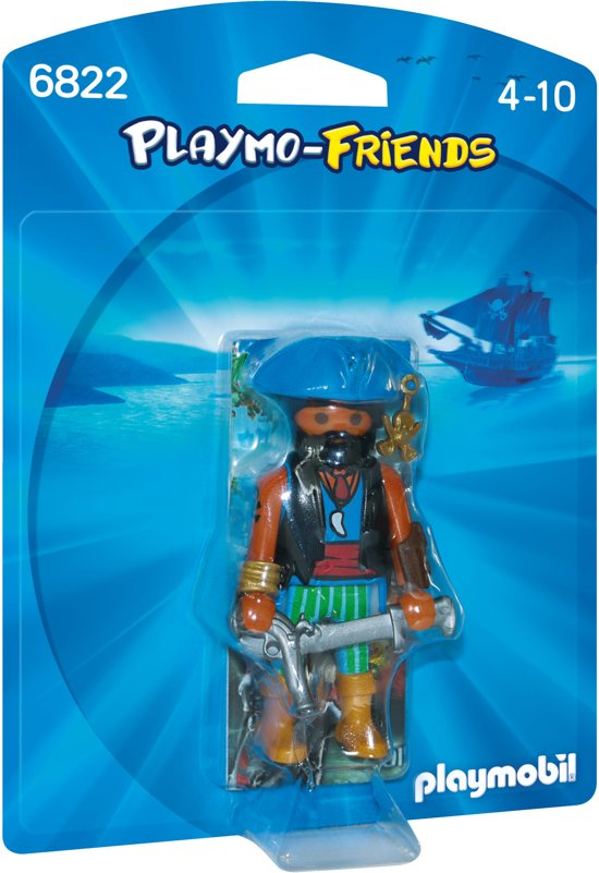 Playmobil Exotische piraat - 6822