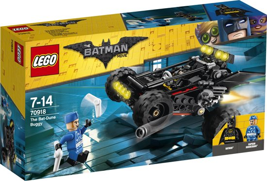 LEGO Batman Movie De Bat-Dune Buggy - 70918