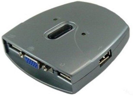 Sedna SE-KVM-USB-22 Grijs KVM-switch