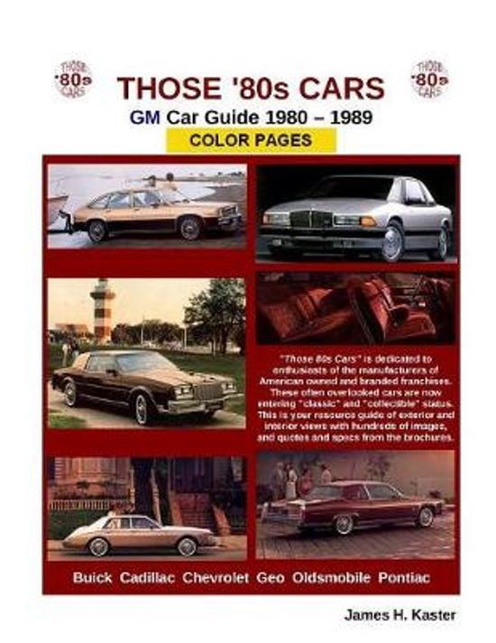 Those 80s Cars - GM