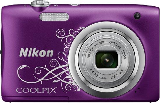 Nikon Coolpix A100 - Paars ornament