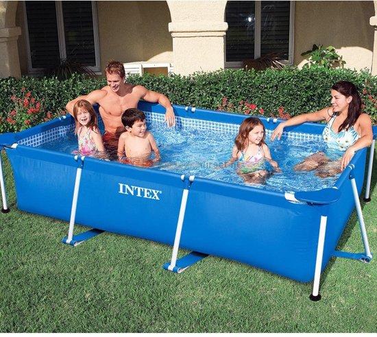 Intex rechthoekig frame zwembad 260cmx160cmx65cm