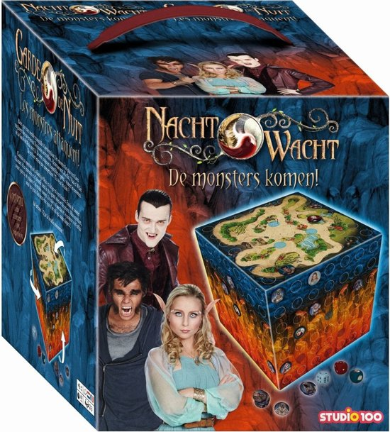Nachtwacht spel Monsters komen - Bordspel