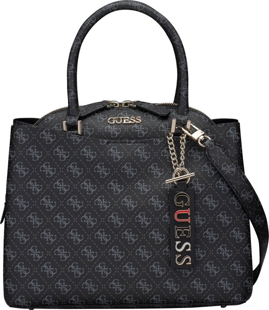| Guess Maci Large Girlfriend Dames Handtas Antraciet