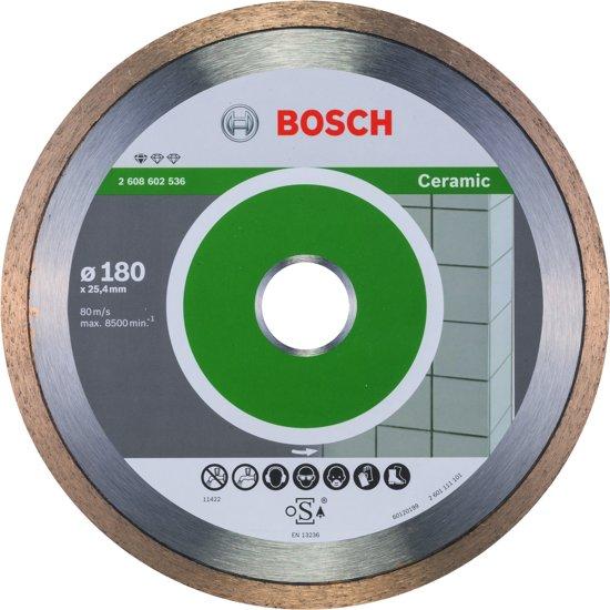 Bosch - Diamantdoorslijpschijf Standard for Ceramic 180 x 25,40 x 1,6 x 7 mm
