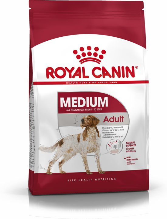 Royal Canin Medium Adult - Hondenvoer - 4 kg
