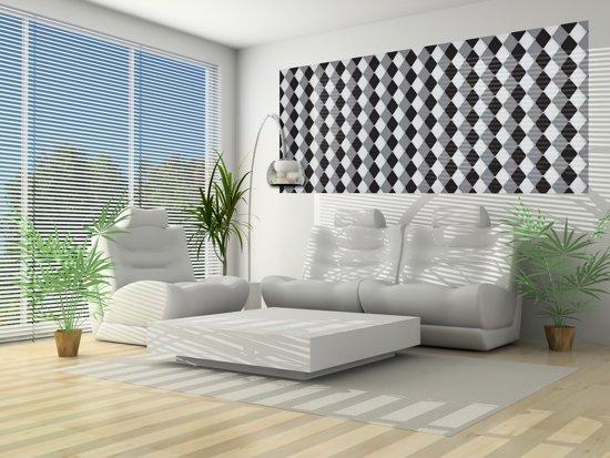 Gray | Black Photomural, wallcovering