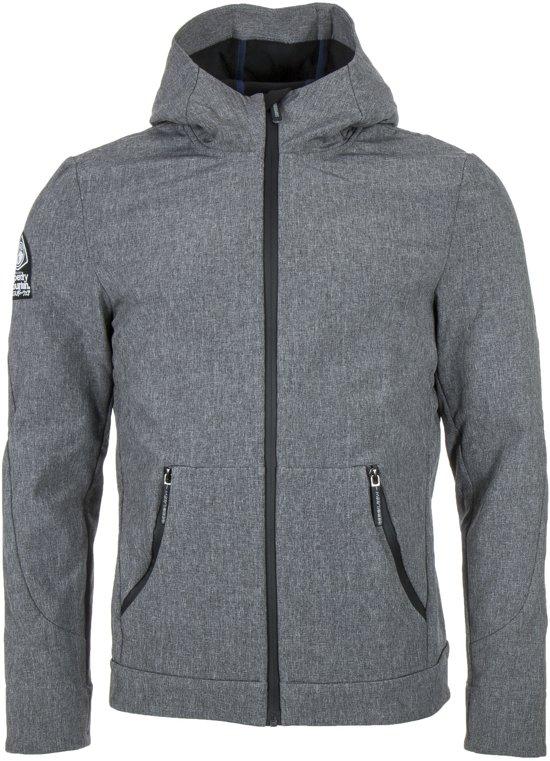 Superdry Mountaineer Softshell  Outdoorjas - Maat XL  - Mannen - grijs