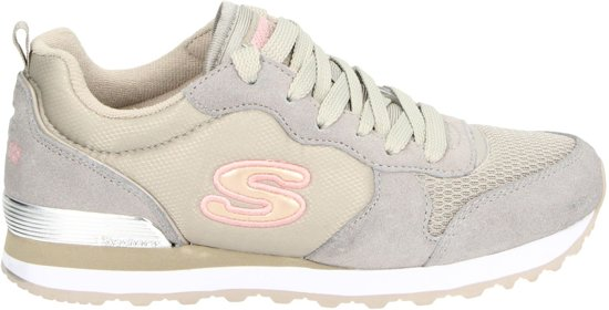 Skechers Retros Og 85 Goldn Gurl Dames Sneakers Beige Maat 39