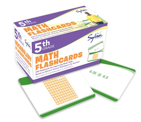 Afbeelding van het spel Math Flashcards, Fifth Grade