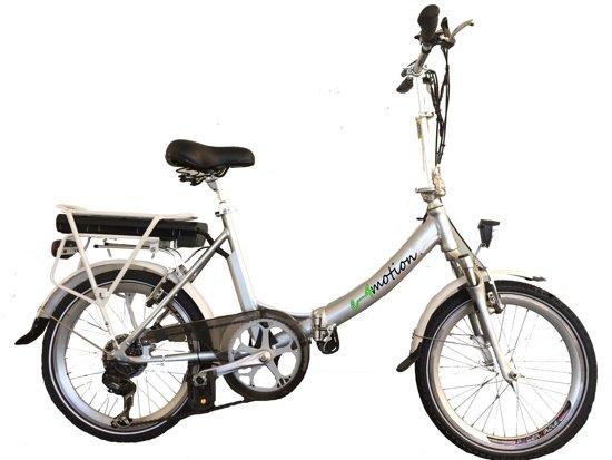 "e-4motion elektrische vouwfiets model Maxi Plus, 20"" wielen, 10Ah accu"