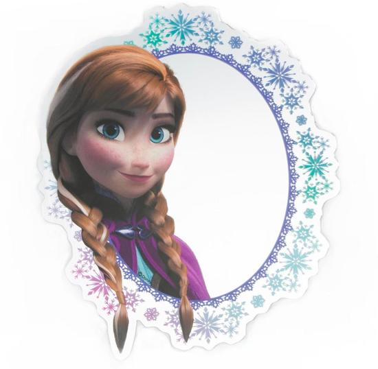 Disney Frozen - Spiegel - Plexiglas - Meerkleurig - 30x30 cm