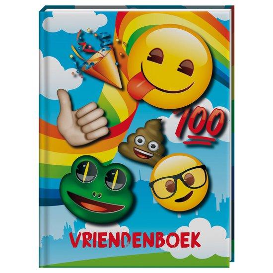 Vriendenboek Emoji Rainbow