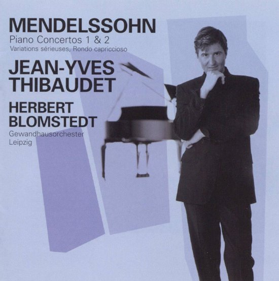 Mendelssohn: Piano Concertos 1 & 2 etc / Thibaudet, Blomstedt et al