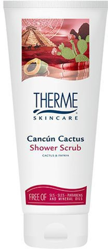 Therme Cancun Cactus Shower Scrub