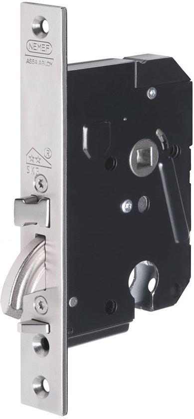 Nemef 4100 Plus Veiligheidsslot PC55 SKG** - type-insteekslot: nemef-4109-met-haakschoot, type-voorplaat: afgerond