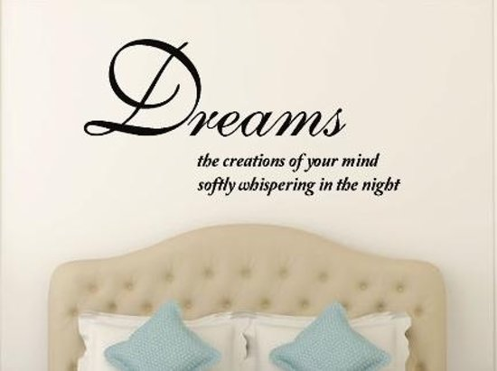 bol.com | muursticker slaapkamer Dreams