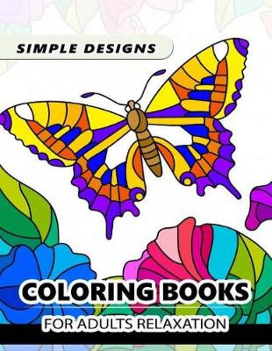 Easy Kaleidoscope Coloring Book for Adult