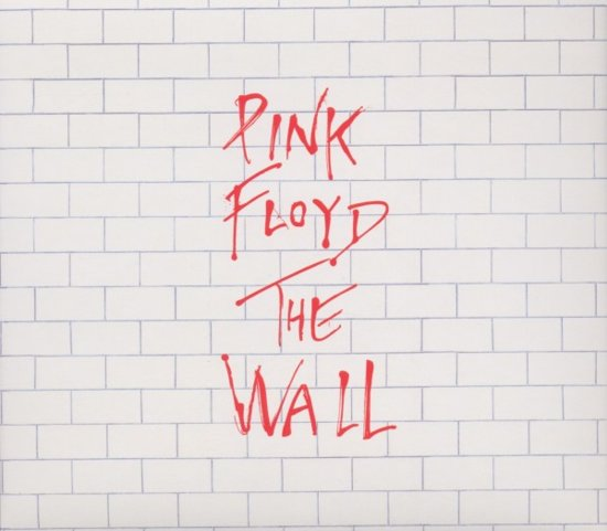 CD cover van The Wall van Pink Floyd