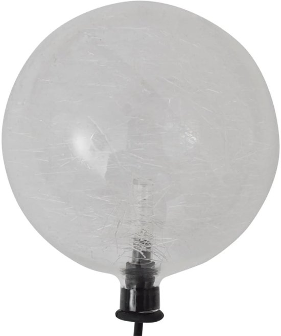 vidaXL Drijvende bollampen op zonne-energie LED 3 stuks voor vijver / zwembad