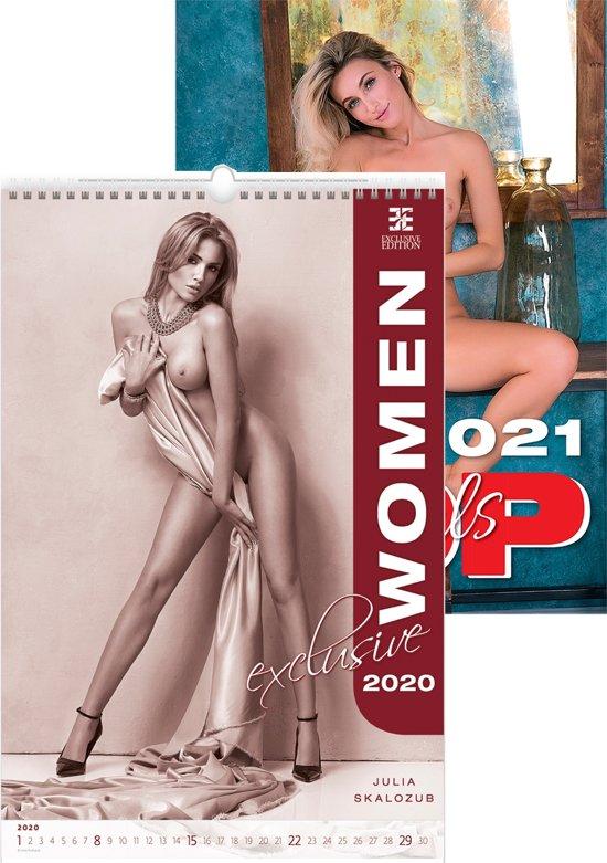 Erotiek C160-19-20 Top Girl 2 wand kalenders 2019 - 2020 31 x 45 cm.