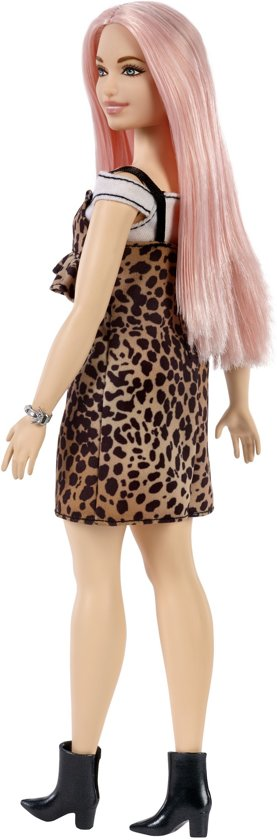 Barbie Fashionistas Pop - Leopard Dress