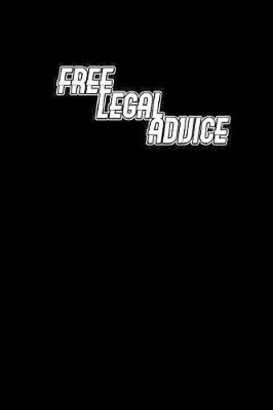 Free Legal Advice: Notebook - Journal - Diary - 110 Lined pages