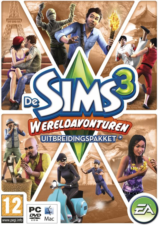 De Sims 3: Wereldavonturen - Windows