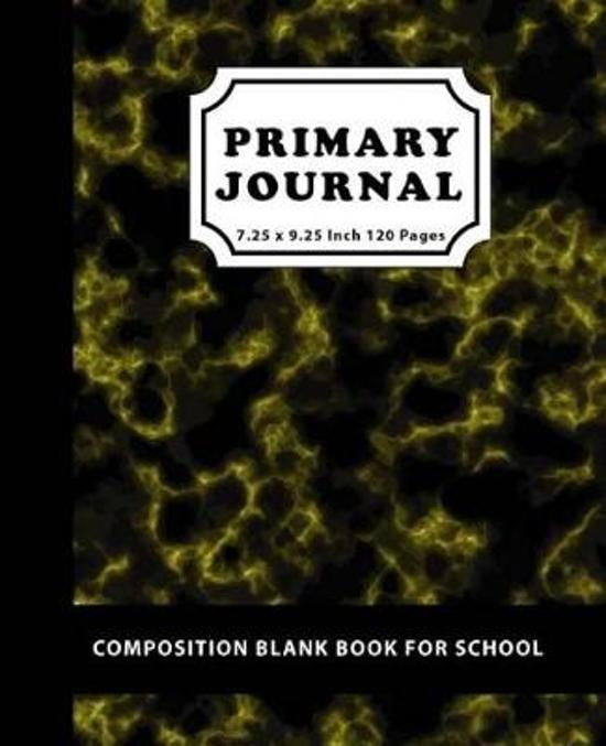 Bolcom Primary Journal Composition Blank Book For School David