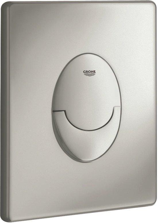 GROHE Skate Air Bedieningspaneel Toilet - Verticaal - Dual Flush - Kunststof - Mat chroom