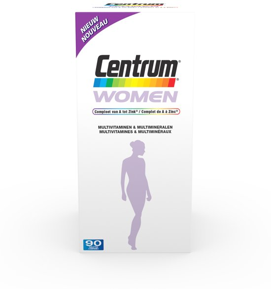 Centrum Women - 90 Tabletten - Multivitaminen