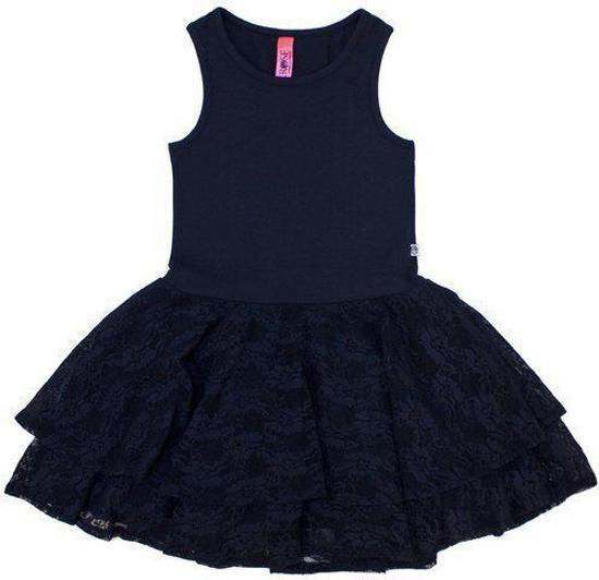 Vinrose Meisjes Jurk - VEE - Dress Blue - 86/92