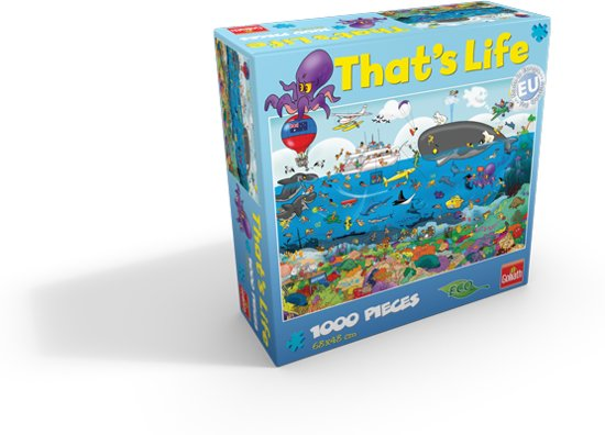 That 39 s life puzzle great barrier reef puzzel goliath - Kamer van mozaiekwater ...
