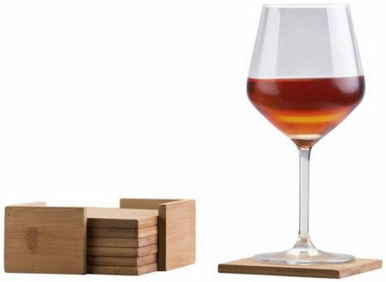 Onderzetters bamboe | Onderzetter glas | Onderzetters hout | Glazen