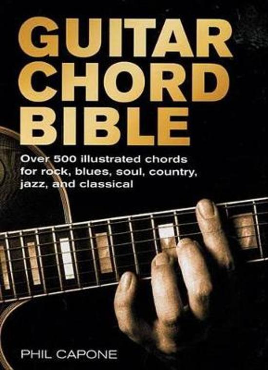 Bol Guitar Chord Bible Phil Capone 9780785820833 Boeken