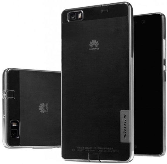 Nillkin Nature TPU Case Huawei P8 Lite - flexibele hoes - Grey in Kalteren