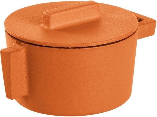 Braadpan Oranje 10 cm incl deksel - Sambonet