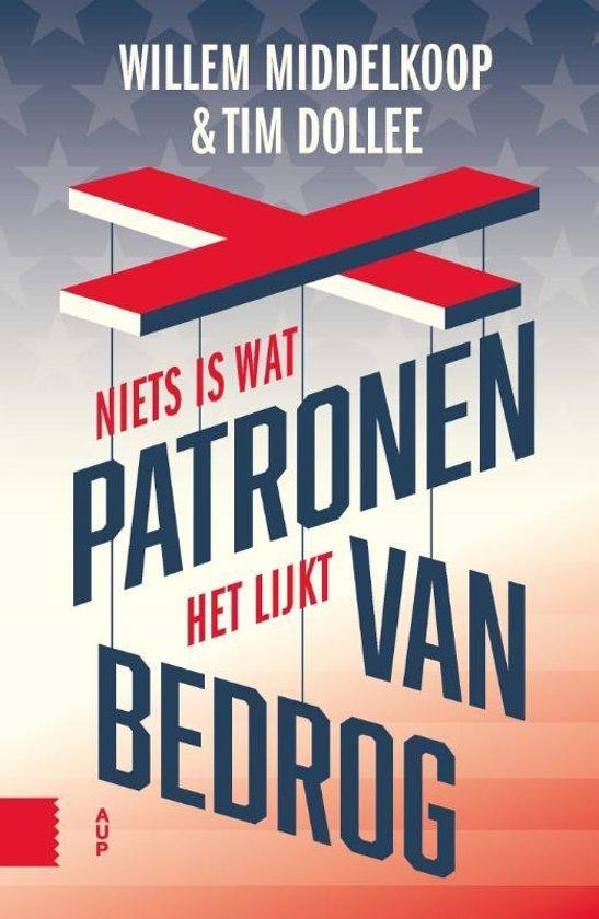 Boek cover Patronen van bedrog van Willem Middelkoop (Paperback)