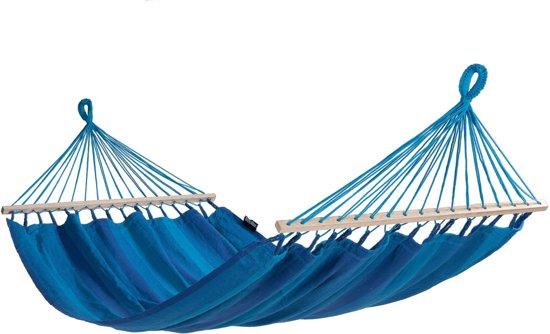 Hangmat met Standaard Eénpersoons 'Easy & Relax' Blue