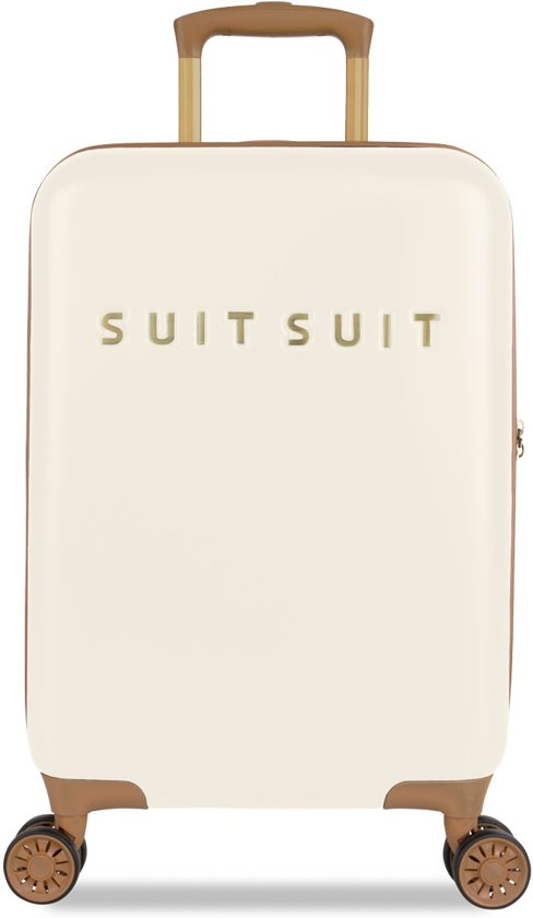 SUITSUIT Fab Seventies Handbagagekoffer - 55 cm - Antique White