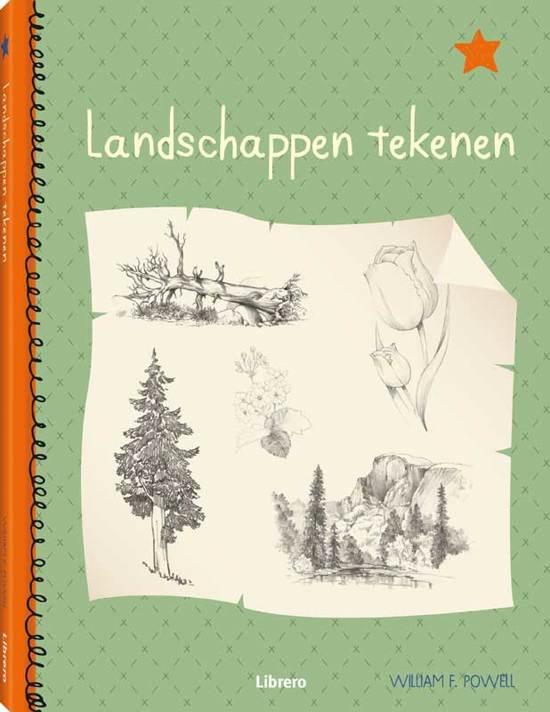 bol | landschappen tekenen, william f. powell | 9789089985286