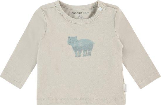 e8a3a7ef24a322 bol.com | Noppies Unisex Slim longsleeve T-shirt Pocatello - Cloud ...